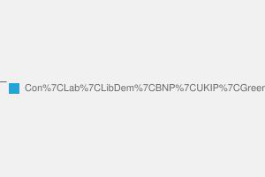 2010 General Election result in Crawley